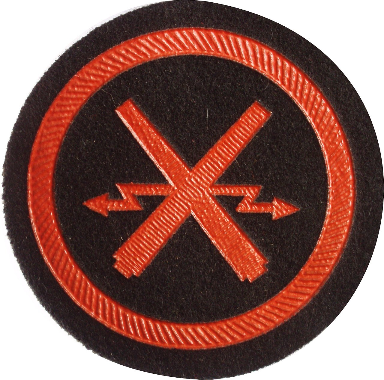 soviet army marine artilery sleeve patch